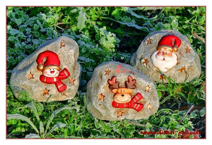 Steine Vor Der Haustür : geschenk und dekorationsartikel weihnachten ~ A.2002-acura-tl-radio.info Haus und Dekorationen